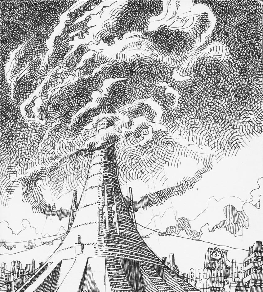 the tower by AlexSvartengel