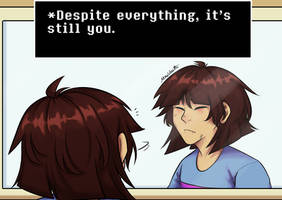 It's you! - Undertale by MaxVesta