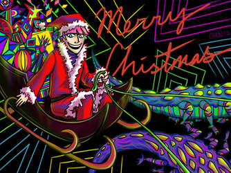 A Very Psychedelic Christmas by WeirdChenDA