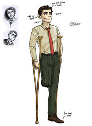 Oskar by WeirdChenDA