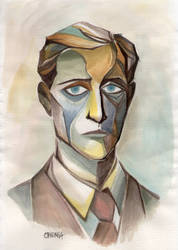 Anton Portrait - Duchamp by WeirdChenDA