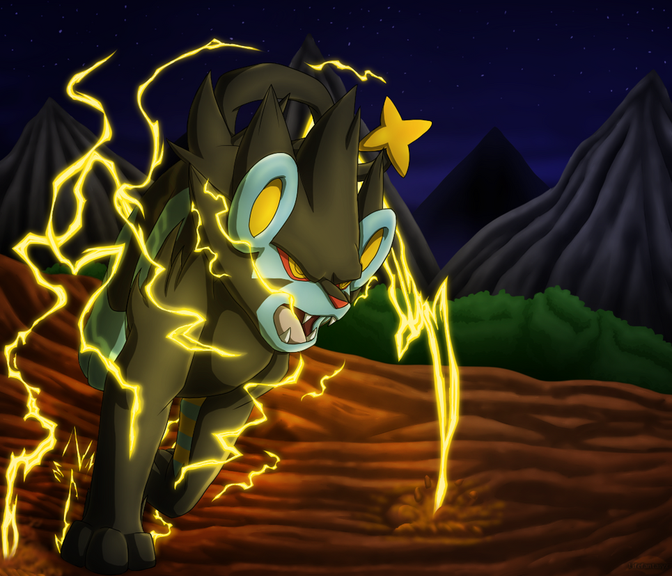 Luxray By Lifefantasyx On DeviantArt