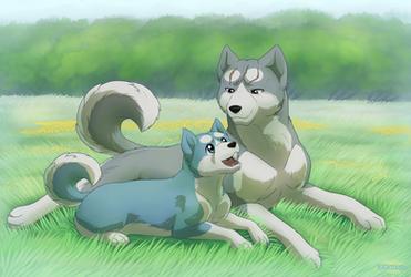 Ginga: Father and Son by Lifefantasyx