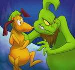 The Grinch and Max (Gift)
