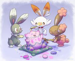 Easter Togepi by Lifefantasyx
