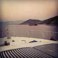Deck of a Yacht by Jamie-Nicole
