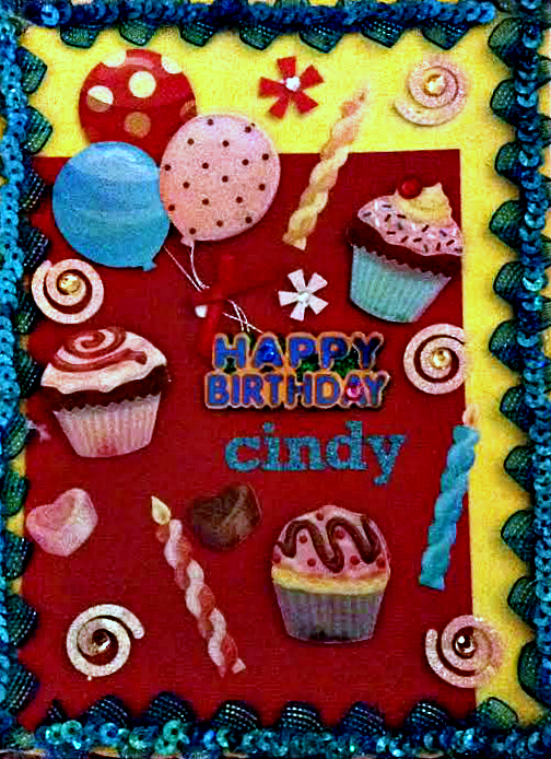 Happy Birthday Cindy by Jamie-Nicole