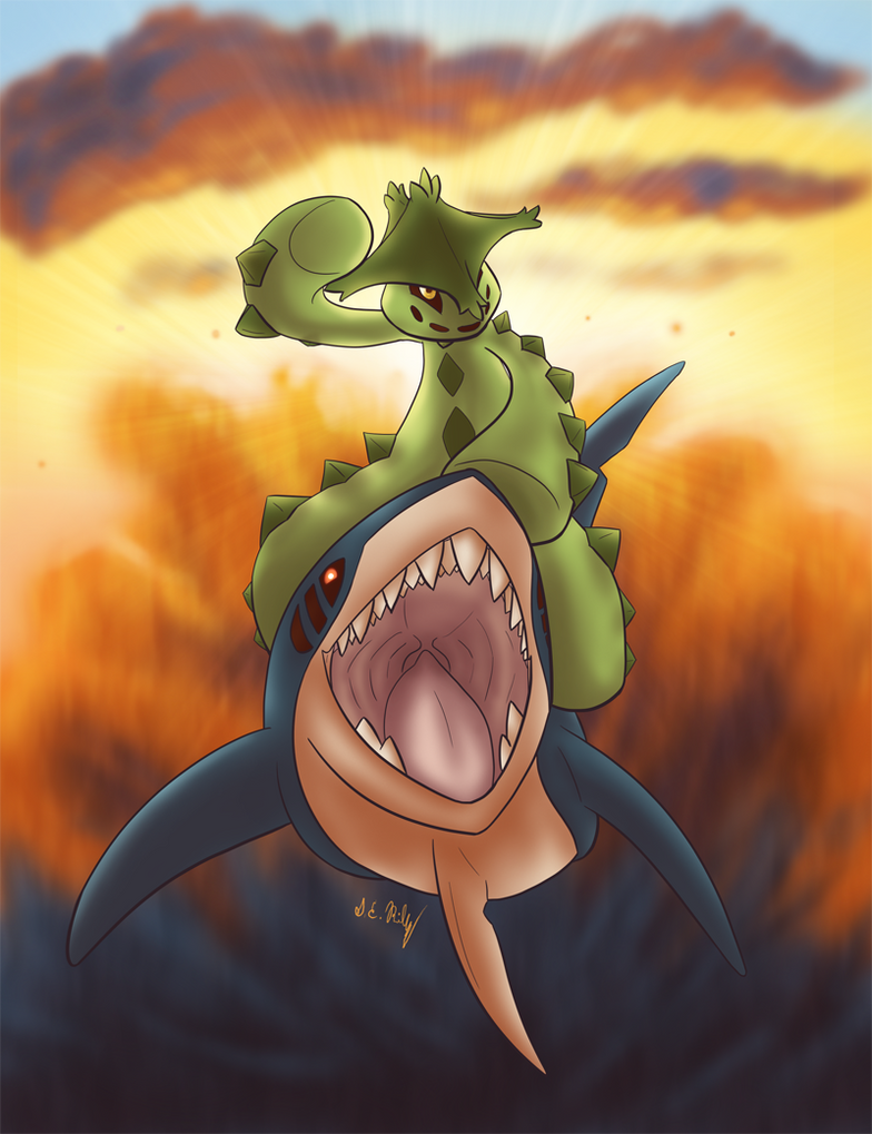 Spikes on a Sharpedo by Nacome