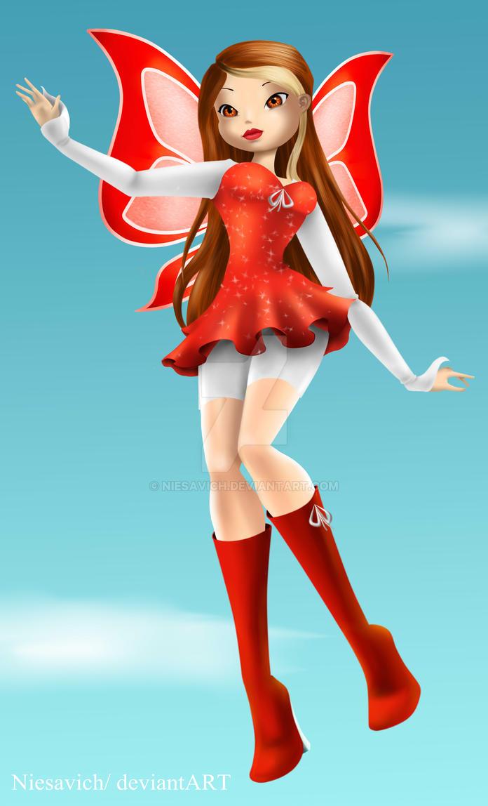 Comm: Sandra magic winx 3D by Niesavich