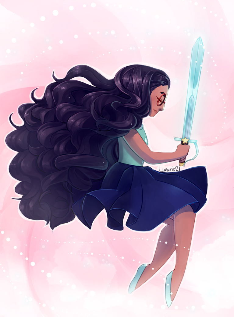 Ahhh steven universe is so good!! I finally drew some fanart, and it's of Connie! she's so great though omg ; v ; I gotta draw the gems at some point though! (I really want to draw rosexpearl tbh) ...