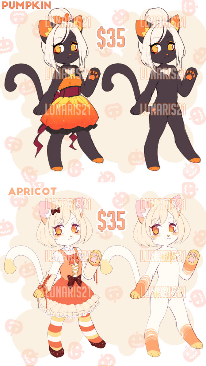 Halloween Cat Adopts FLATSALE [CLOSED]