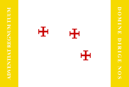 Catholic Flag by AlternateHistory87
