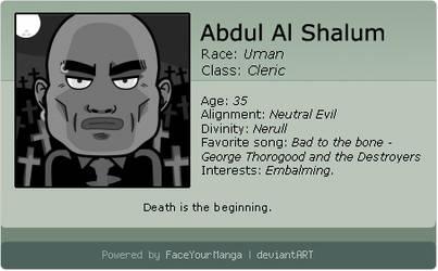 Abdul - Character N.3