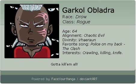 Garkol - Character N.4