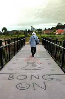 BONG ON