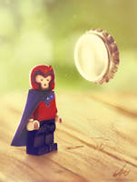 LEGO MAGNETO by CharlyChive