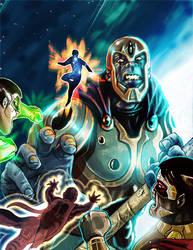 Cosmic Heroes by JonGibbons