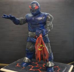 Darkseid - Clay Sculpture by LoonyLunie