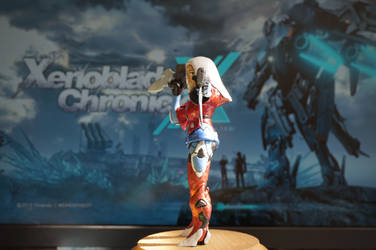 Elma - Clay Sculpture 3 - Xenoblade Chronicles X by LoonyLunie