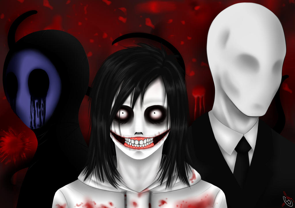 The gallery for --> Slenderman And Jeff The Killer And ...