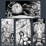 Spot Illustrations - Old School Essentials RPG by JerryBoucher