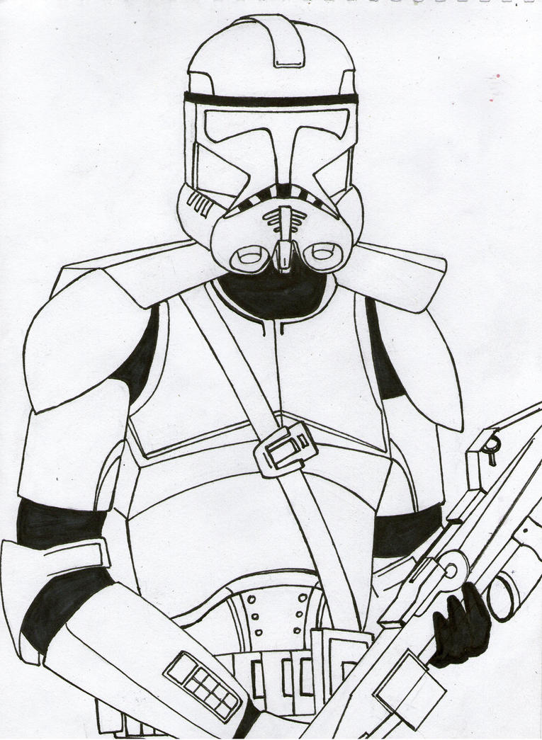 Clone helmet coloring coloring pages for Clone trooper coloring pages
