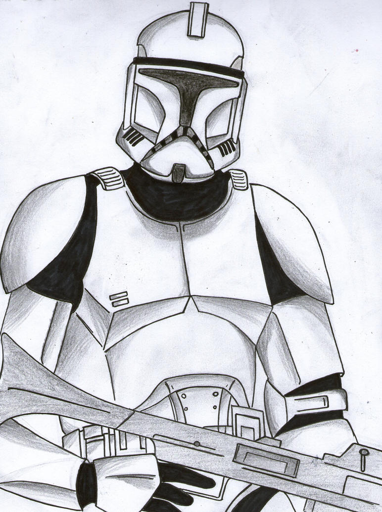 Image Result For Commander Cody Coloring