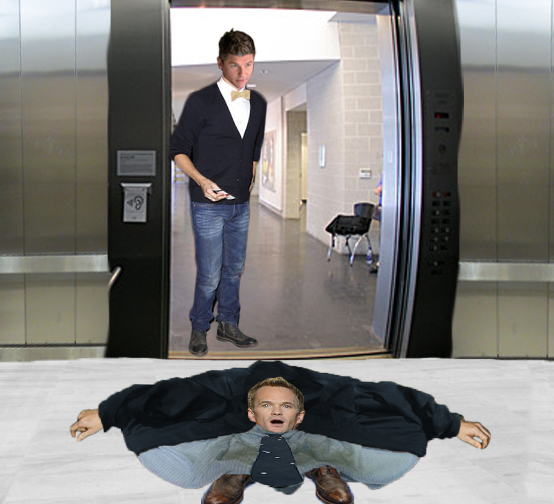 Neil Patrick Harris Elevator by JMaster13