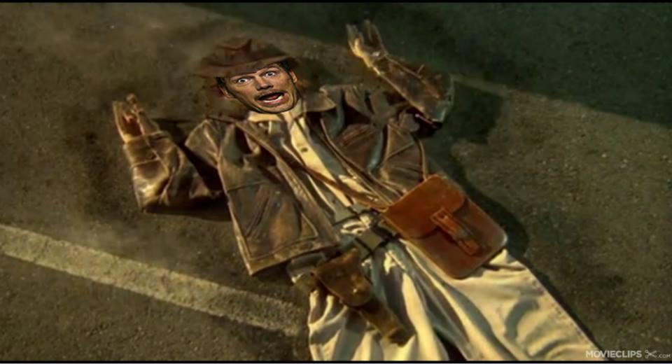 Chris Pratt Indiana Jones by JMaster13