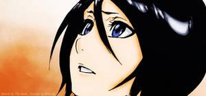 Rukia observando a Ichigo