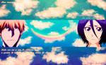 Wallpaper IchiRuki Bleach Anime End