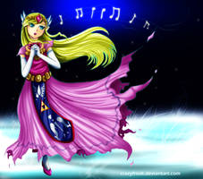 Princess Zelda Spirit Tracks by crazyfreak
