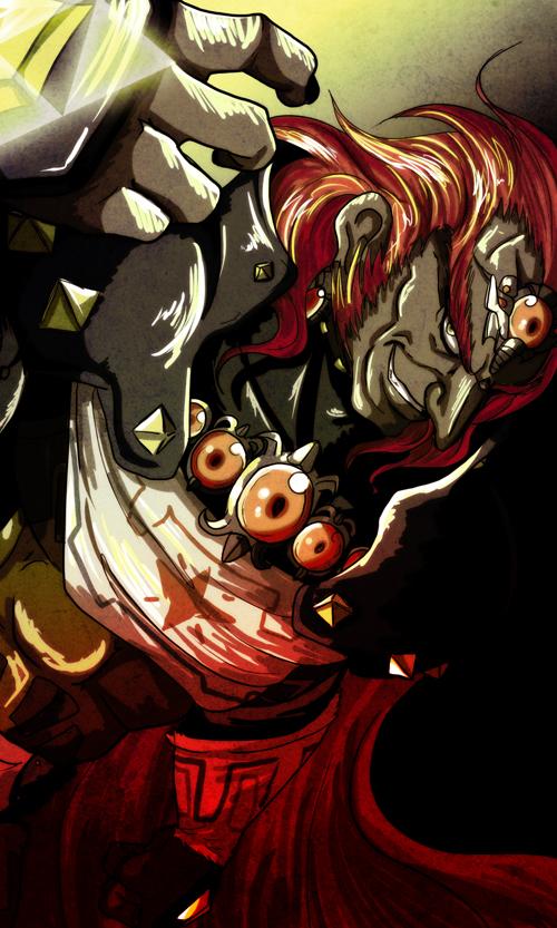 King of thieves Ganondorf by crazyfreak