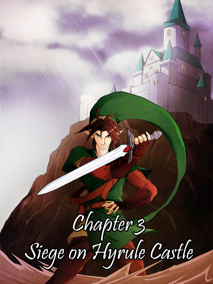 Zeldanime Chapter three by crazyfreak