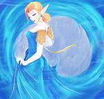 Zelda Water blue