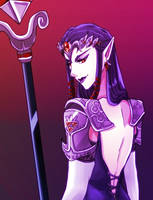 Princess Hilda from Twilight Princess by crazyfreak