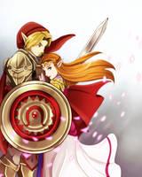 Heros Shade and Princess Zelda by crazyfreak