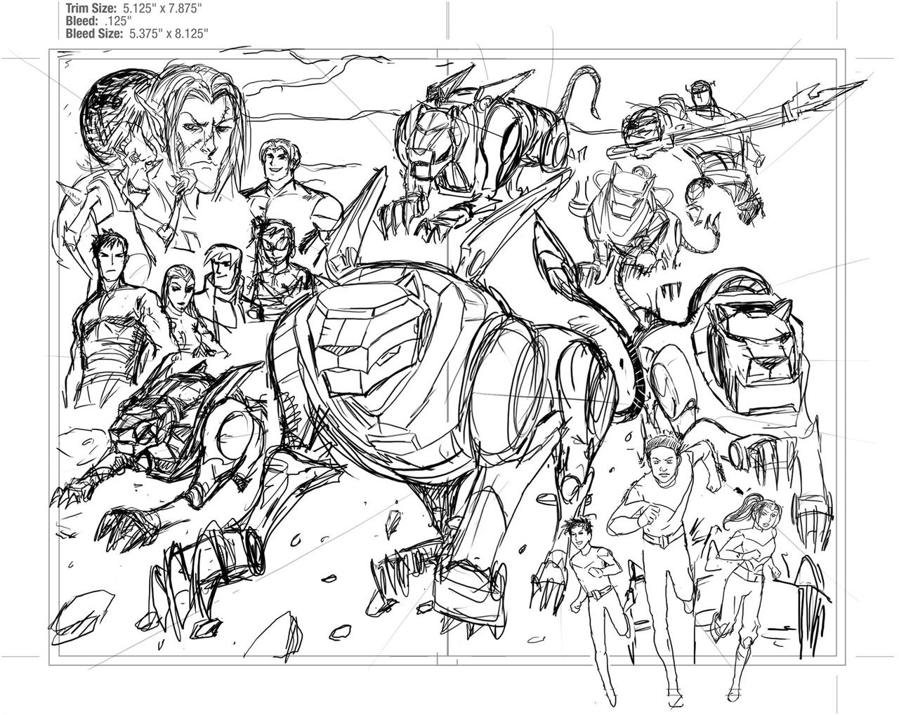 Voltron force unused draft by ultrachicken on deviantart for Voltron coloring pages free