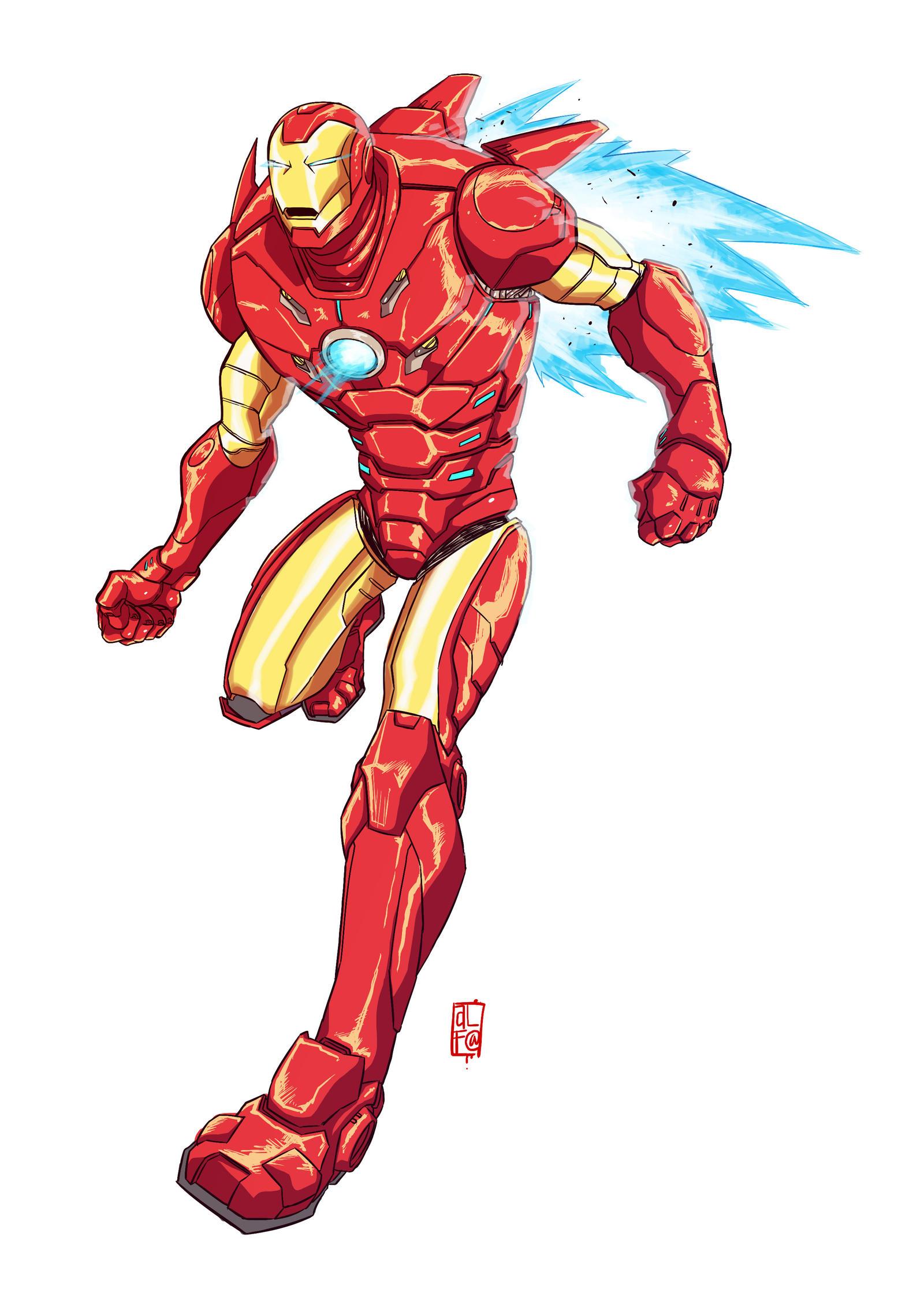 Iron man clr by ultrachicken