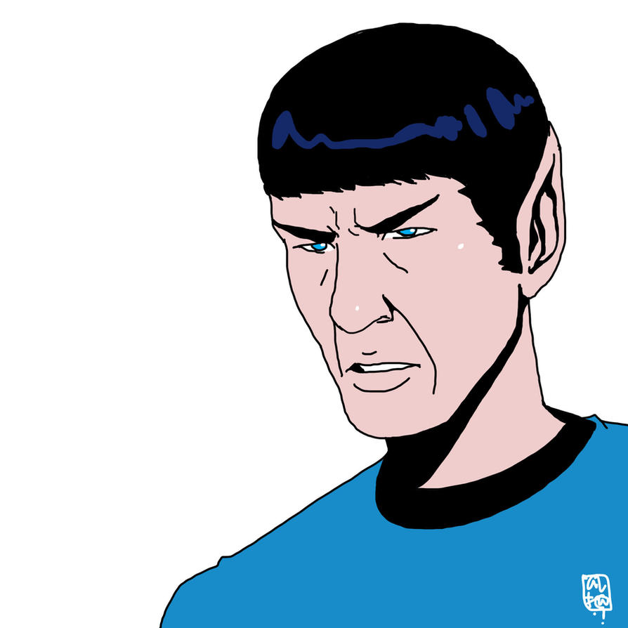 star trek : spock by ultrachicken