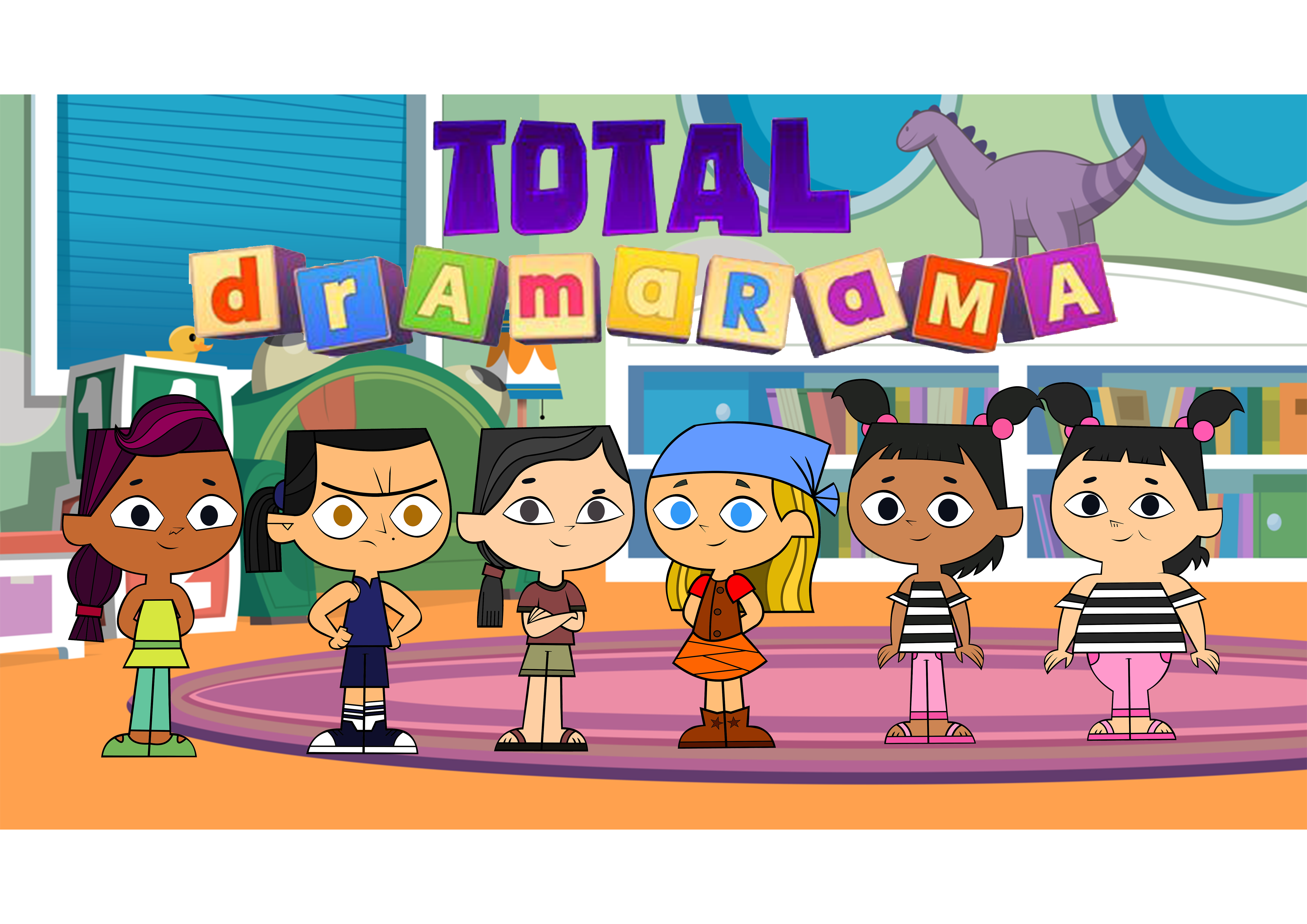 Total Dramarama - Cast by JaDraws on DeviantArt