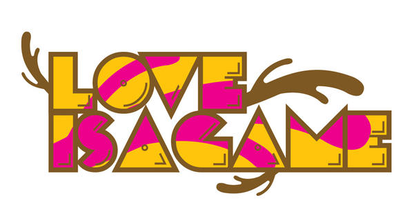 Love is a game logo