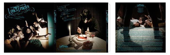 CD art Los 21 Tracks by funkycide