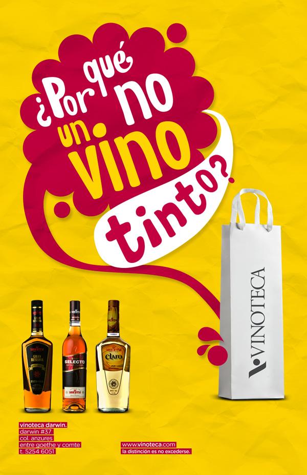 Propuesta vinoteca 2010 ad by funkycide