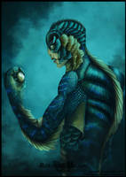 The Shape of Water by RoxanneMilson