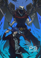 Persona 3 Protagonist by PATVIT
