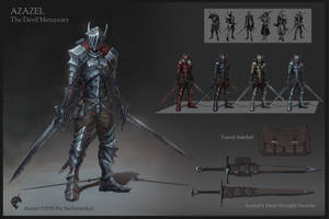 Azazel The Devil Mercenary by PATVIT