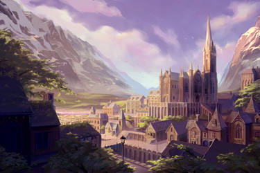The Town of Lost Fairy by PATVIT