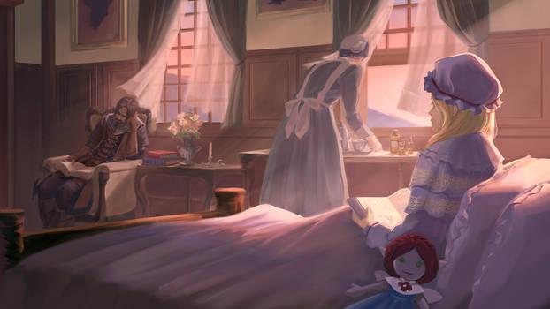 Lost Fae: Kaia's Room