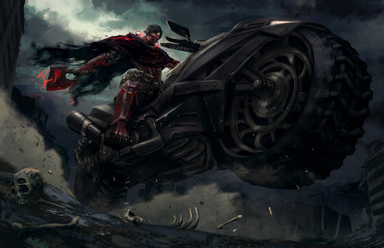 Bleeding Alloy: Rider of the Abyss